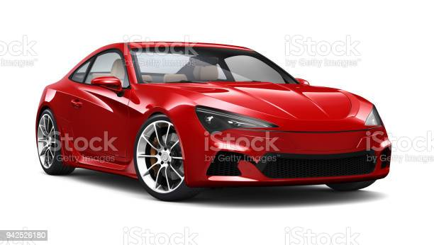 Illustration of red generic sports coupe car on white picture id942526180?b=1&k=6&m=942526180&s=612x612&h=hcaphw8vq bkrqqn oxpsfbd9jfte7vxuwl3hc0znga=