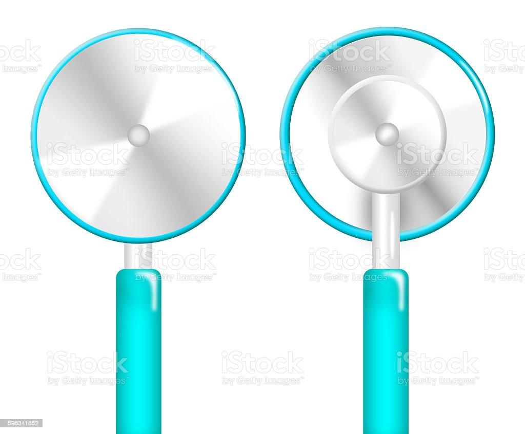 Illustration of stethoscope isolated Lizenzfreies stock-foto