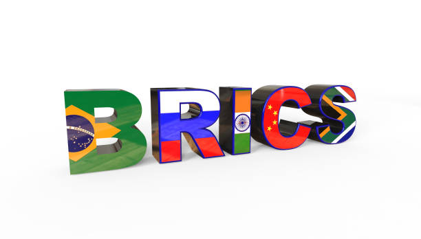 3D illustration of the BRICS association, including Brazil, Russia, India, China and South africa 3D illustration of the BRICS association, including Brazil, Russia, India, China and South africa brics stock pictures, royalty-free photos & images