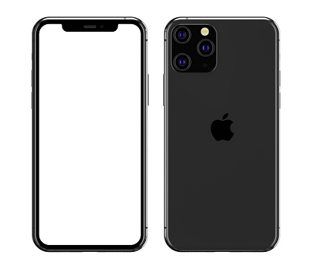 illustration of the iPhone 11 Pro blank screen