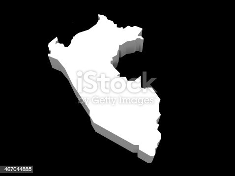 istock illustration of the peruvian map 467044885