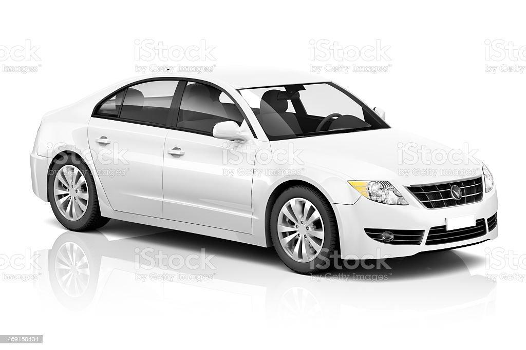 Illustration of Transportation Technology Car Performance Concep stock photo