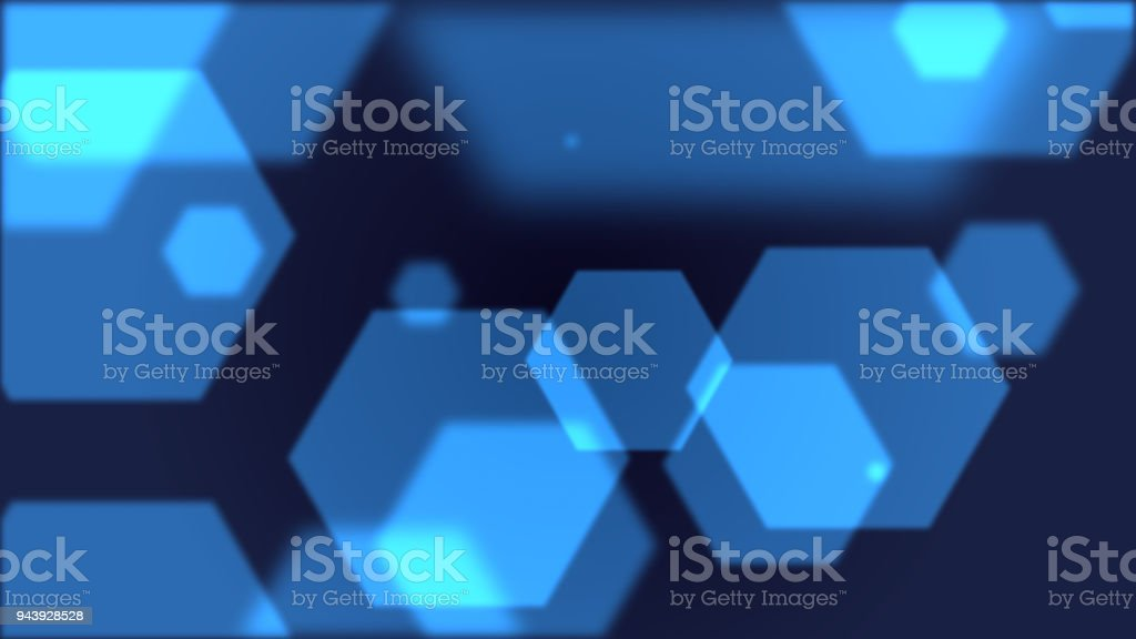 illustration Polygon Futuristic digital background,Abstract particles background for Science and technology stock photo