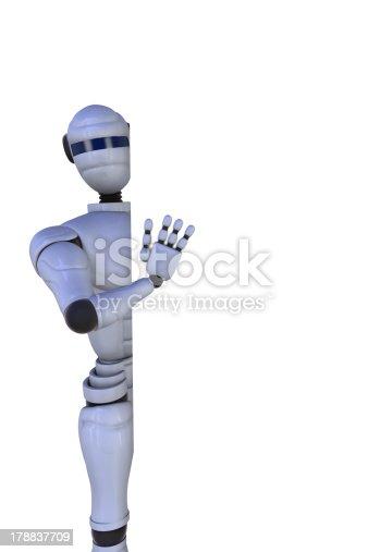 521048154 istock photo 3D illustration robot 178837709
