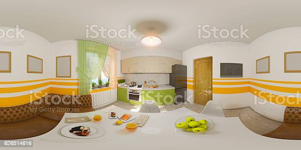 Illustration seamless panorama of kitchen interior picture id626514616?b=1&k=6&m=626514616&s=612x612&h=w2bopivenhc6qf4etgkvdzxseblsiqljhpt7jhyrg1g=
