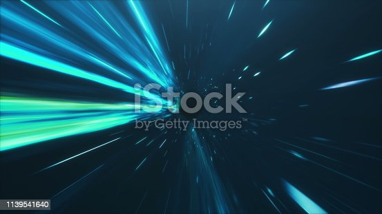 istock 3D illustration tunnel or wormhole, tunnel that can connect one universe with another. Abstract speed tunnel warp in space, wormhole or black hole, scene of overcoming the temporary space in cosmos 1139541640