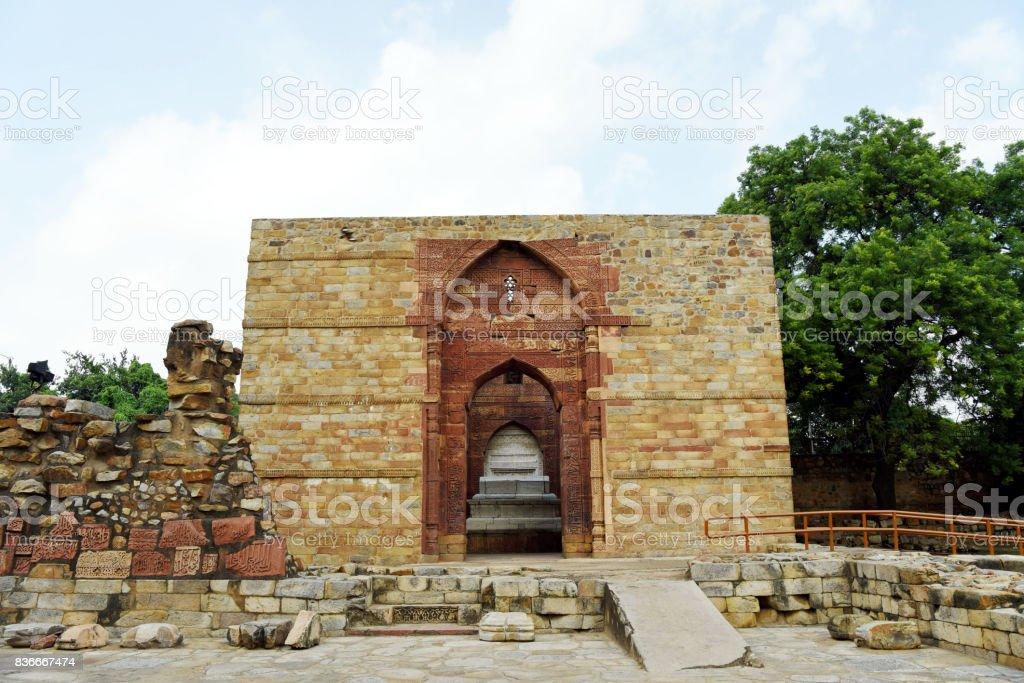 Iltutmish's Tomb stock photo