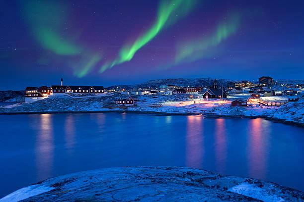Ilulissat Aurora, Grönland – Foto