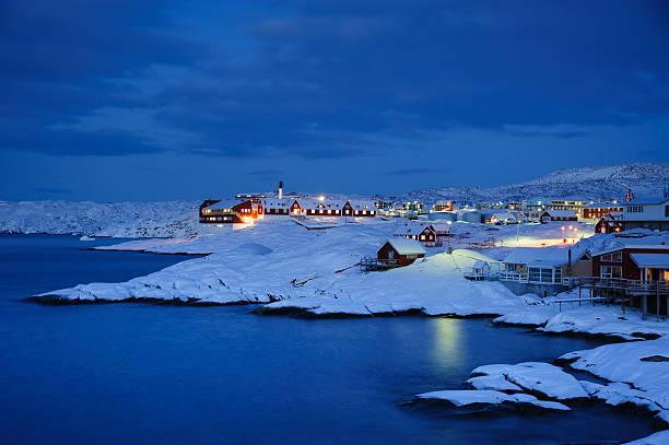 Ilulissat Dämmerung, Grönland – Foto