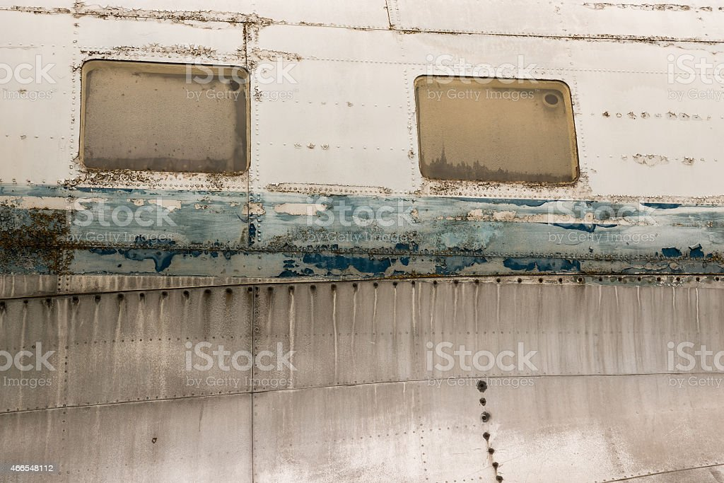 Ilyushin Il-14 stock photo