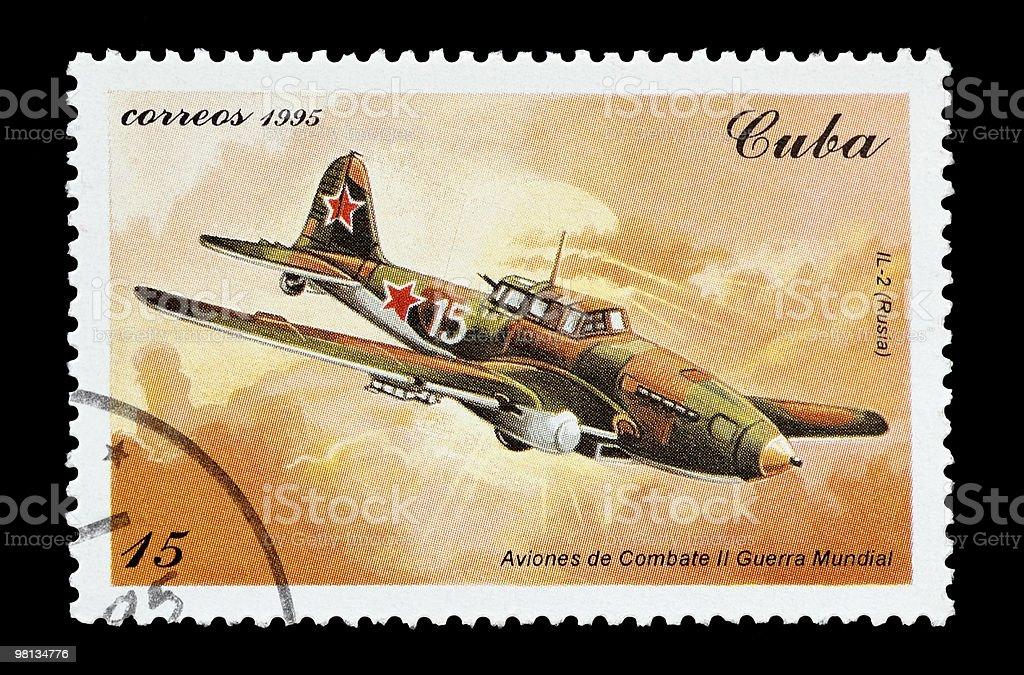 Ilyushin IL-2 royalty-free stock photo