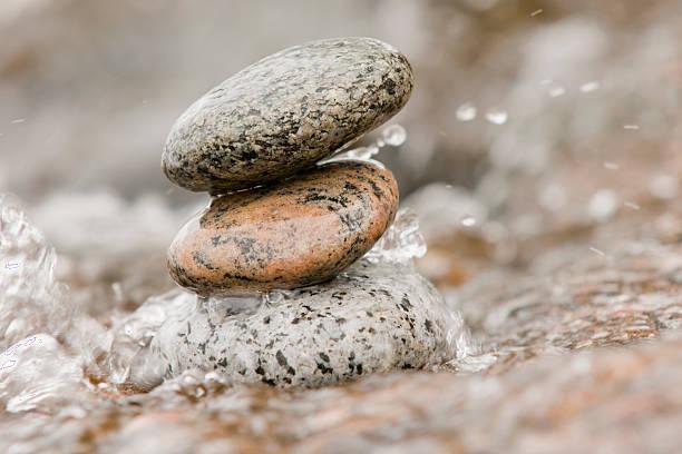 im balance beam – Foto