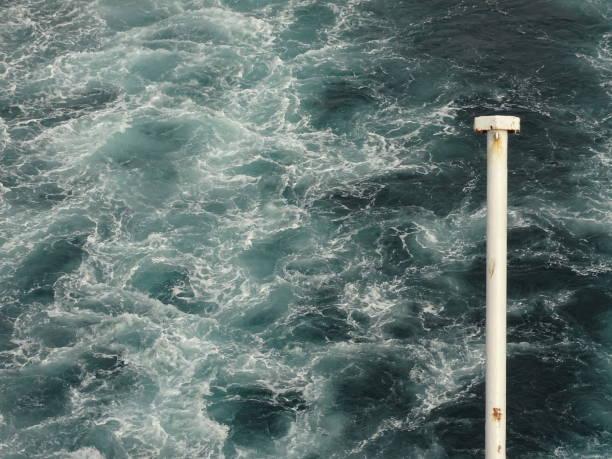 Im Hafen von Amsterdam und Newcastle stock photo