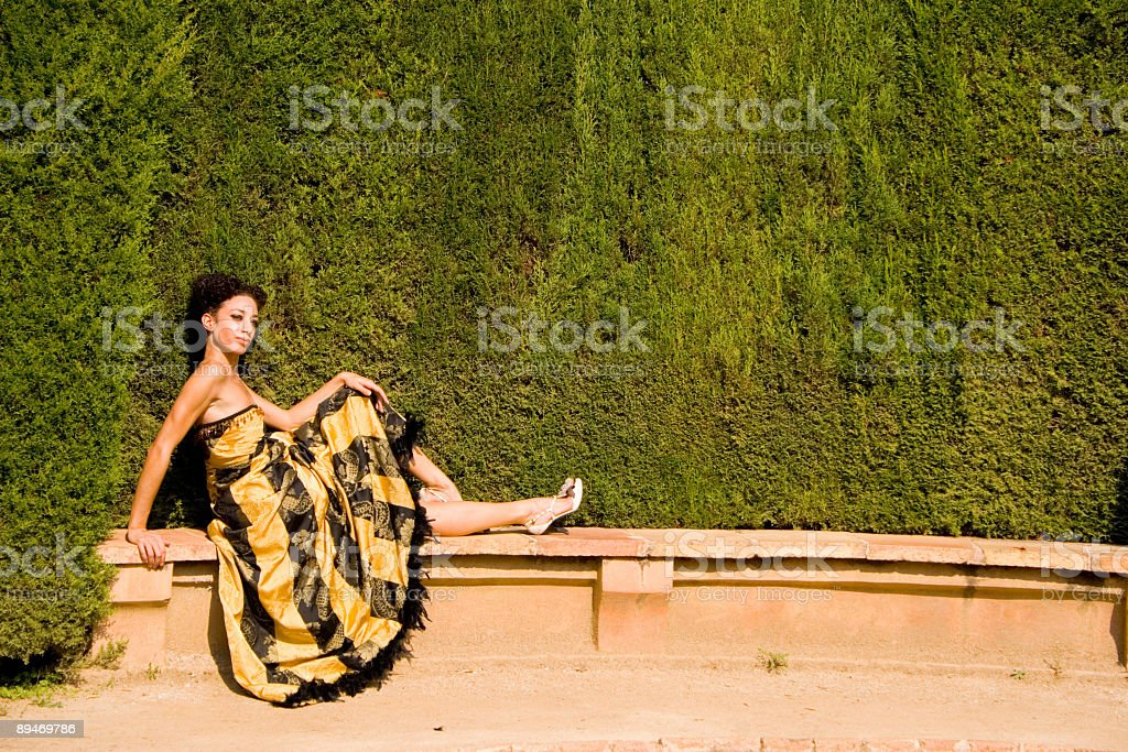 I,m waiting... royalty-free stock photo