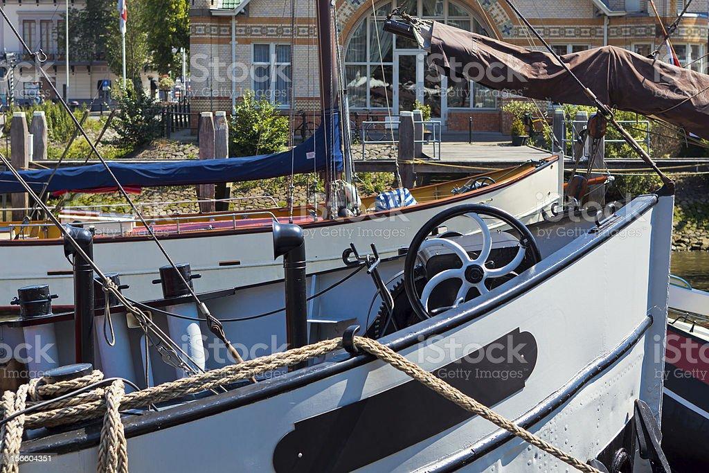 Im Yachthafen royalty-free stock photo