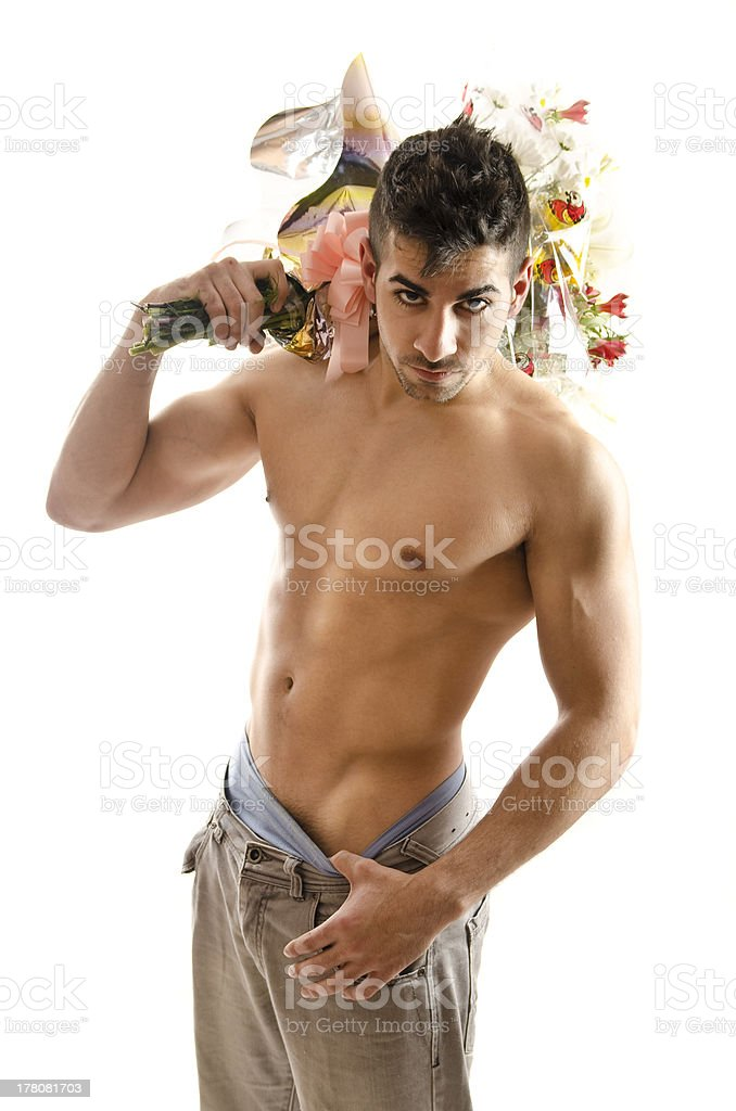 I,m your date. stock photo