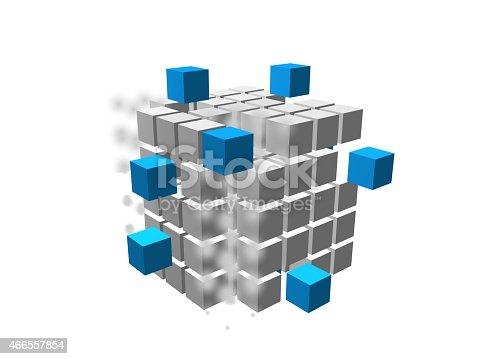 Image. 3d cube 03