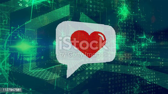 898149690 istock photo image concept for online dating, dating apps 1127947581