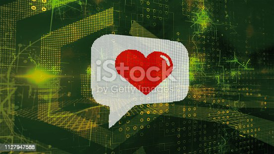 898149690 istock photo image concept for online dating, dating apps 1127947588