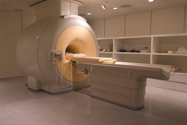Image depicting an MRI Scanner stock photo