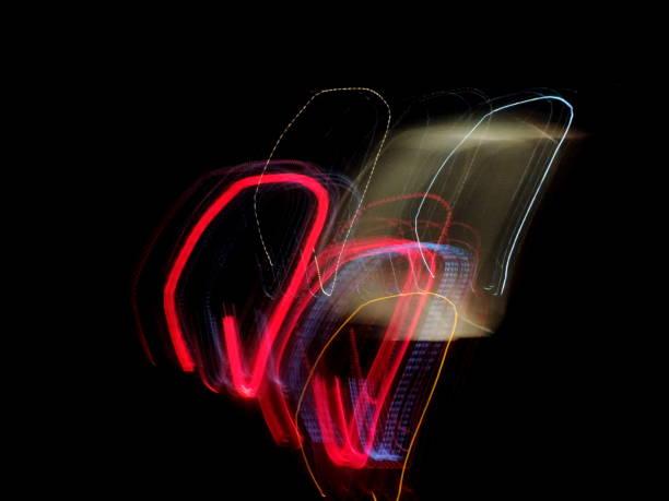 bild belichtung zeit / licht weg - lichtschlauch stock-fotos und bilder