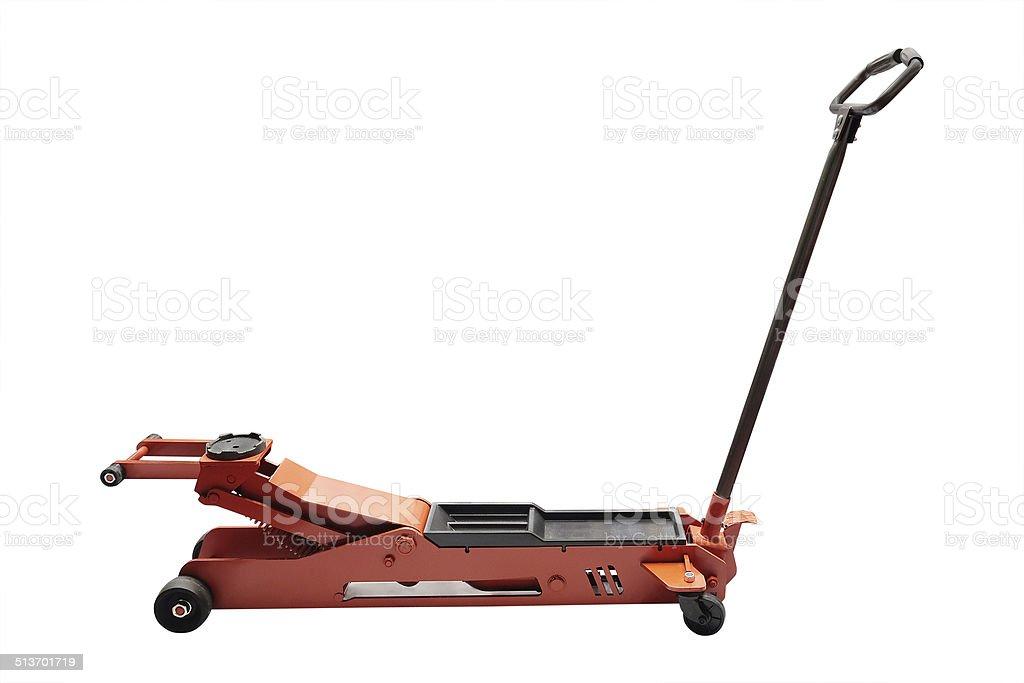 Image of a car repair lifting jack stock photo