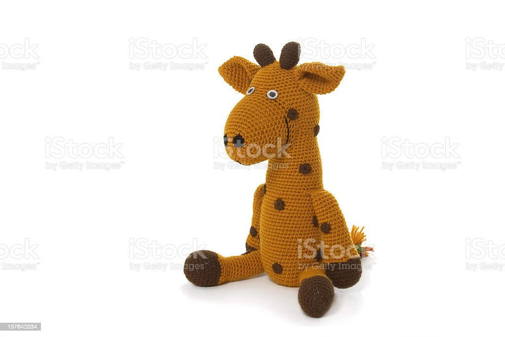 A image of a child's cuddle toy stock photo