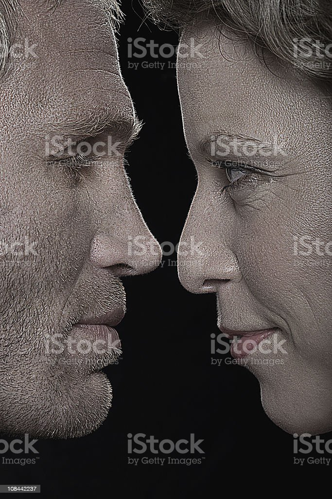Image of a couple stock photo