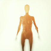istock 3D image of a cyborg 538646556