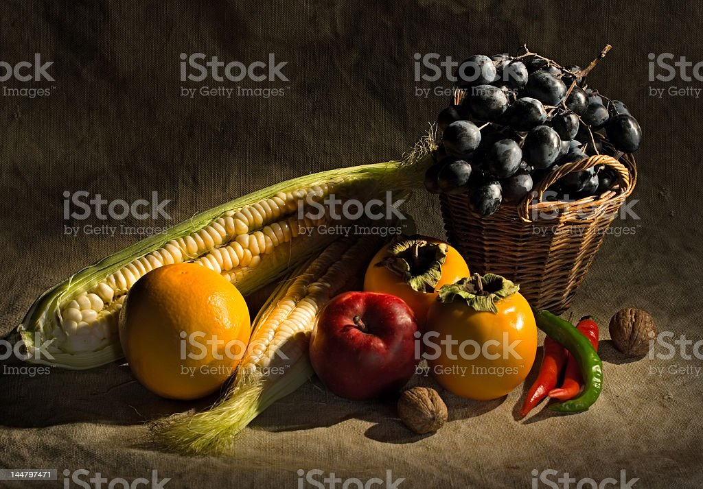 Image of a farmers seasons harvest stock photo