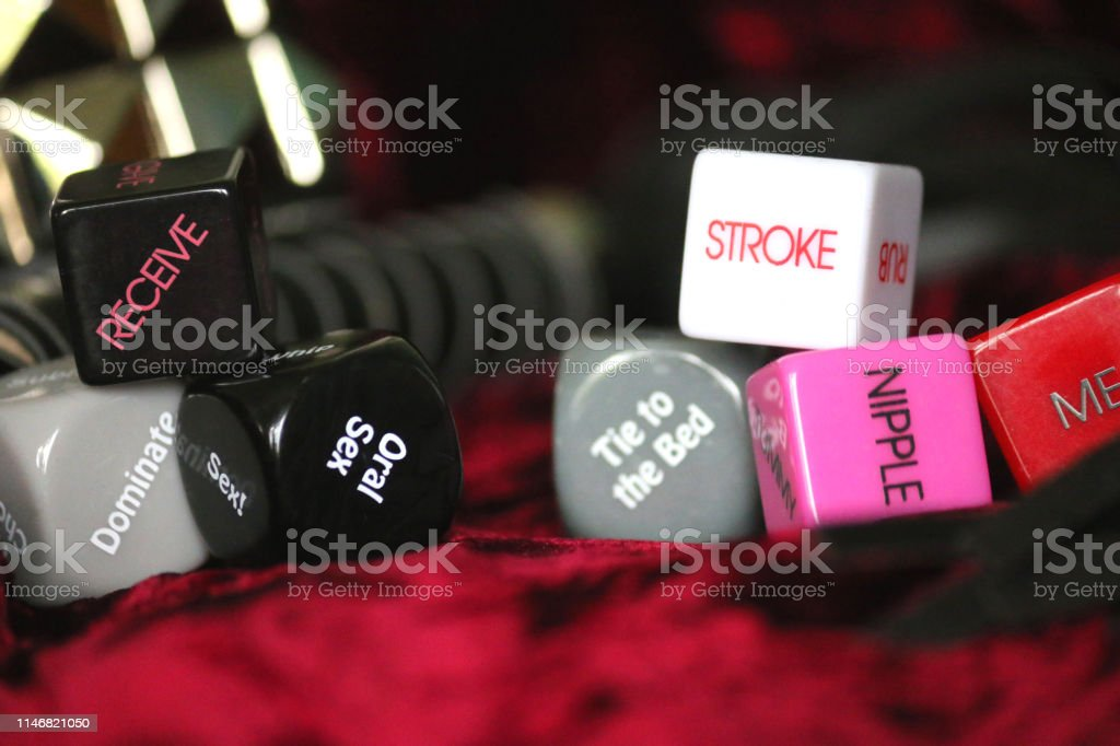 Stock photo of bedroom sex games, toys for adults feeling romantic,...