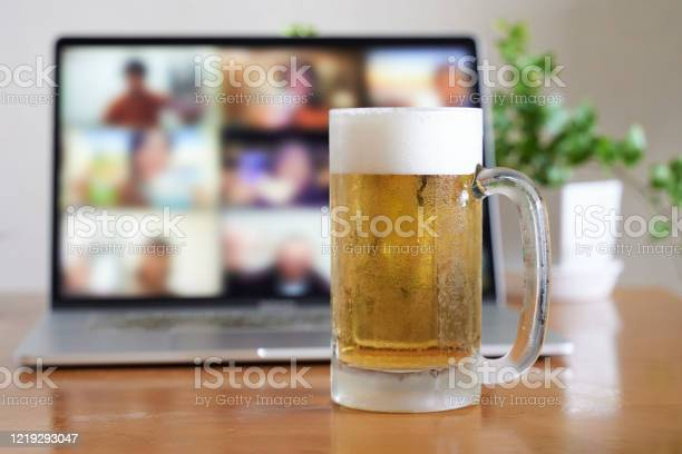 Image of an online drinking session picture id1219293047?b=1&k=6&m=1219293047&s=612x612&h=rrghlnt7hskyvb 583w9c ed12hro5nrs6z3trqbxdk=