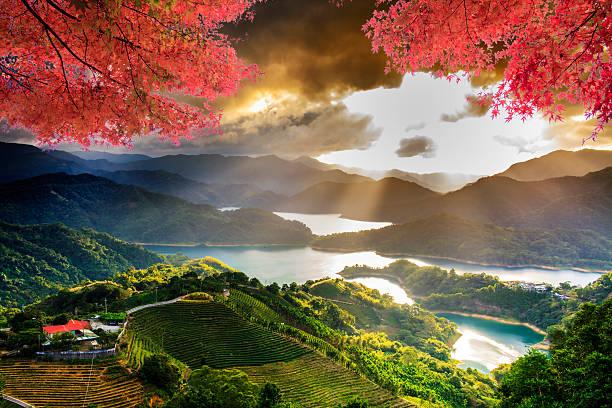 Image du magnifique paysage, Taiwan - Photo