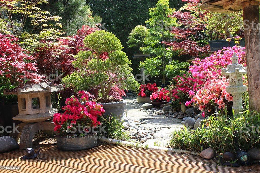 Jardin japonais terrasse free terrasse jardin geneve orleans photos photo terrasse bois jardin - Amenagement jardin japonais nanterre ...
