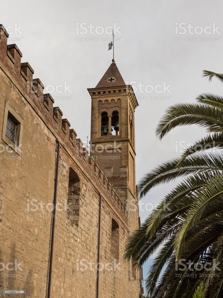 Image of bolgheri in the Etruscan coast of Tuscany in Italy - foto stock