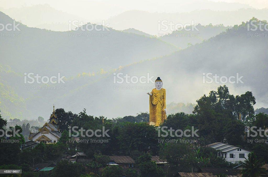 Image of Buddha, Wag. royalty-free stock photo