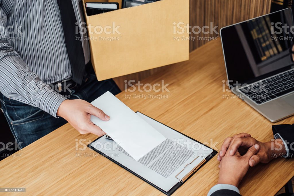 Image Of Businessman Hand Holding Cardboard Box And Sending A