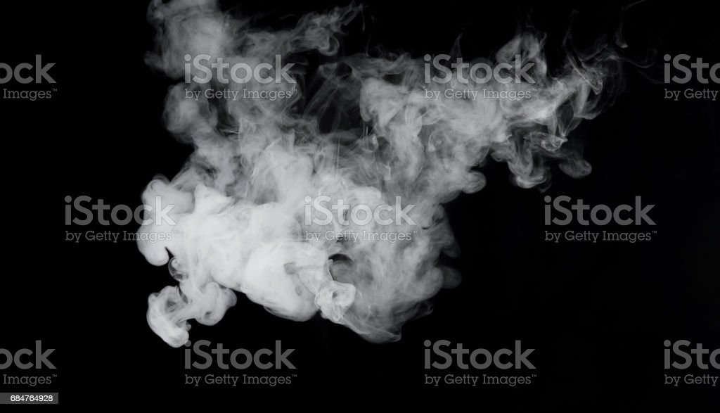 Image of cigarette's smoke stock photo
