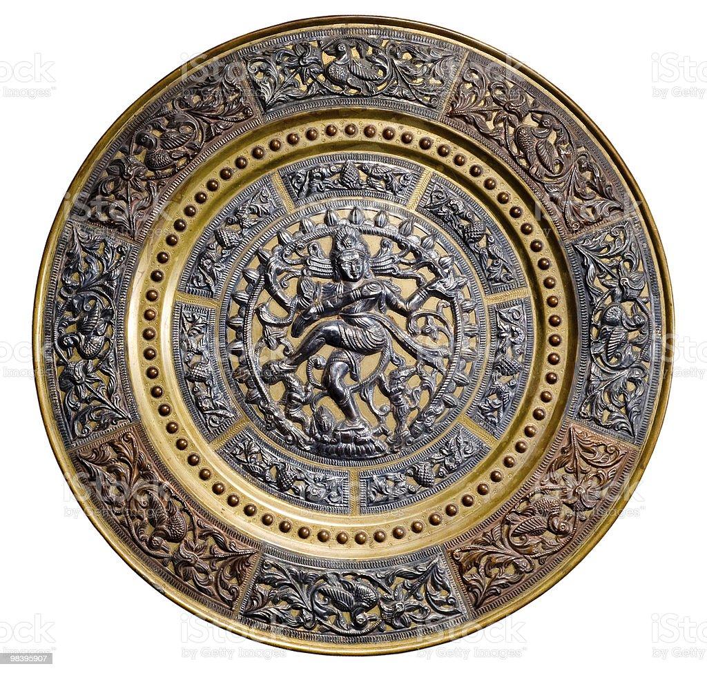 image of dancing Shiva royalty-free stock photo