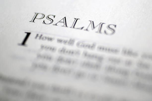 bild wörterbuch: psalmen - psalm stock-fotos und bilder