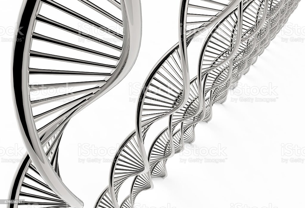 Image of DNA strand royalty-free stock photo