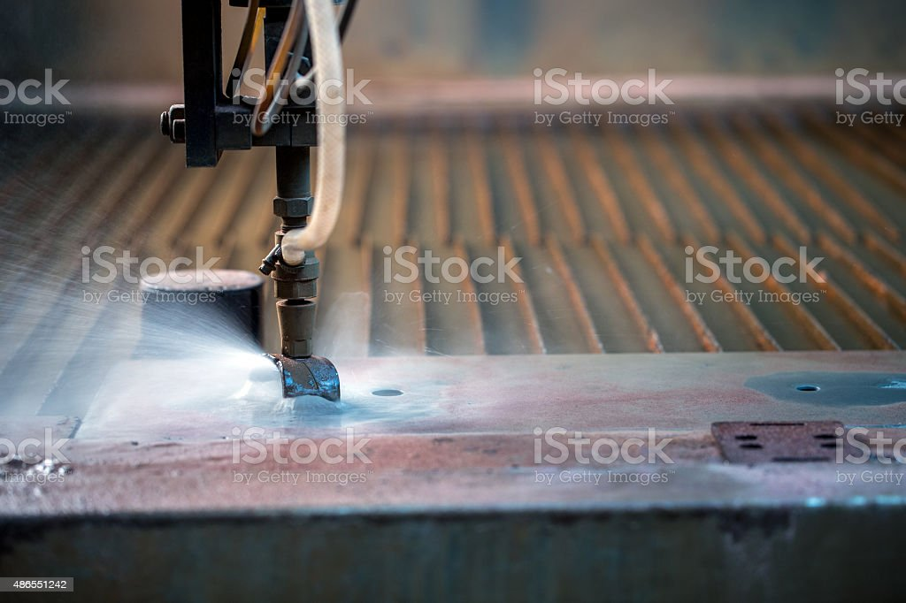 Image result for Waterjet Cutting istock