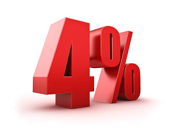 4 Prozent. – Foto