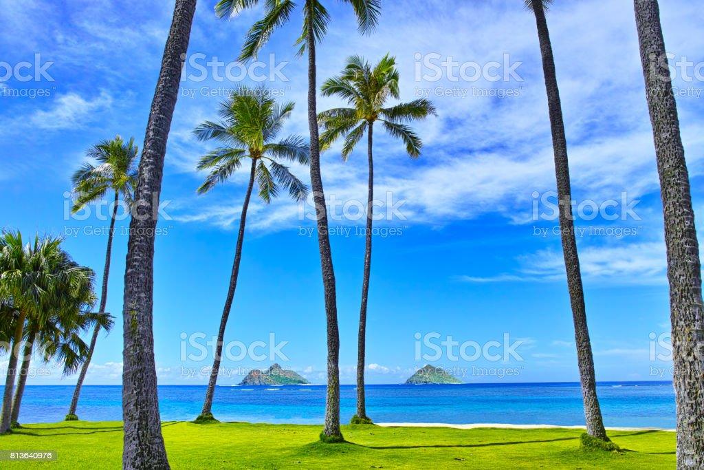 Image of Hawaii Lanikai Beach stock photo