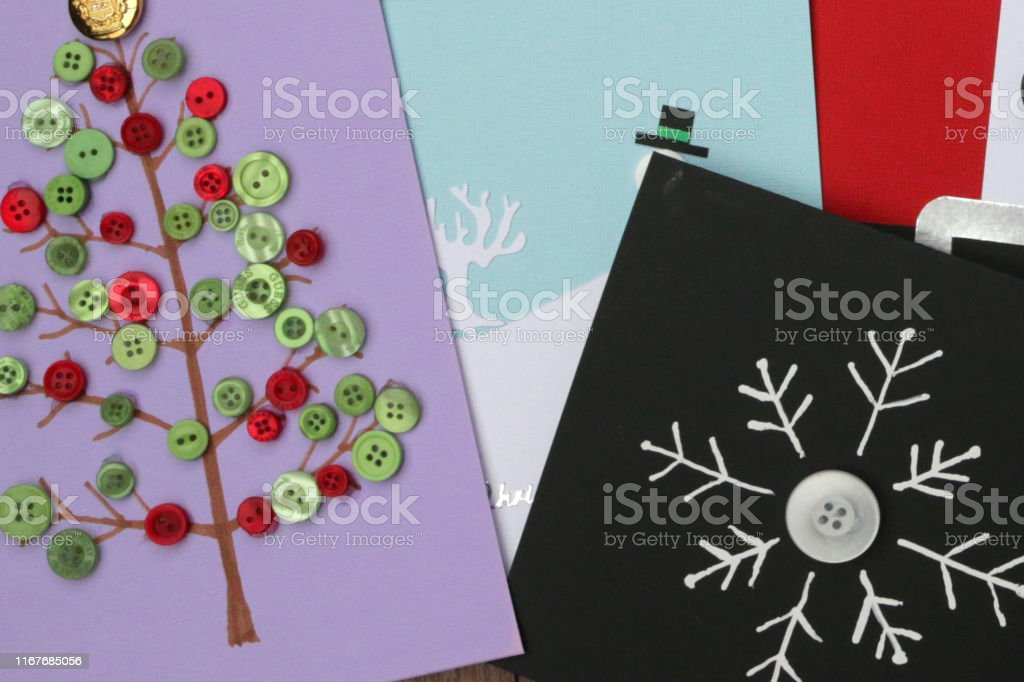 Enjoyable Image Of Homemade Diy Easy Christmas Cards Designs With Cutouts Funny Birthday Cards Online Alyptdamsfinfo