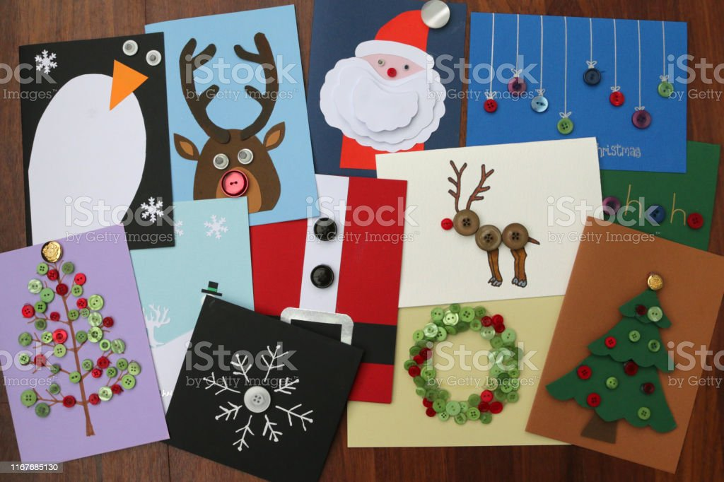 Snowman Christmas Cards Ideas.Image Of Homemade Diy Easy Christmas Cards Designs With