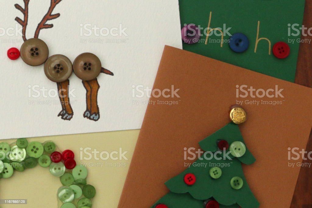 Easy Christmas Cards Designs.Image Of Homemade Diy Easy Christmas Cards Designs With Cutouts