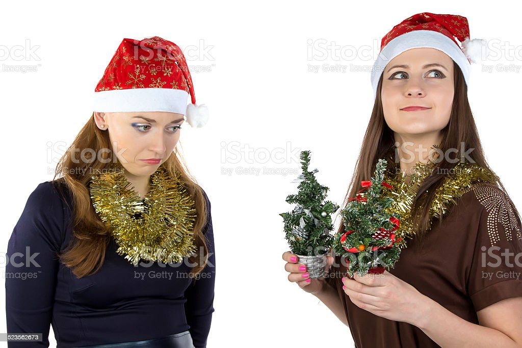 Image of inequity in Christmas day stock photo