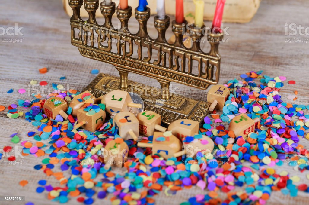 Jewish holiday, Holiday symbol Hanukkah Image of jewish holiday...