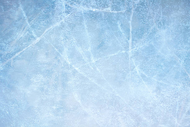 Image of light blue ice design Textured ice blue frozen rink winter background ice stock pictures, royalty-free photos & images
